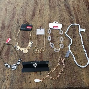 J Crew, Cristabelle & more Necklace JEWELRY BUNDLE